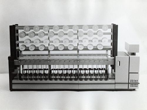 Nitrianske textilné strojárne Nitra, dizajn: Ján Čalovka, foto: rodinný archív