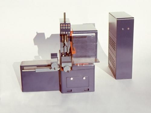 Strojáreň Piesok, dizajn: Ján Čalovka, foto: rodinný archív