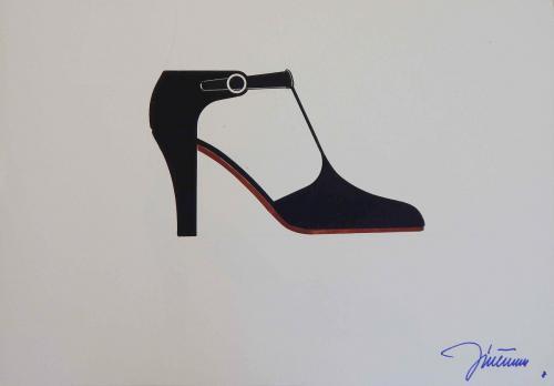 Návrhy topánok pre ZDA Partizánske, dizajn Ján Čalovka, 1979–1988